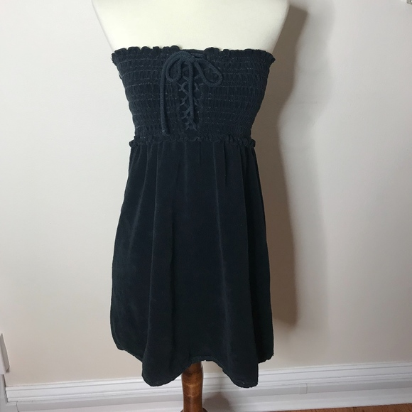 c8bc7f4b66 Juicy Couture Dresses | Lace Up Terry Dress | Poshmark